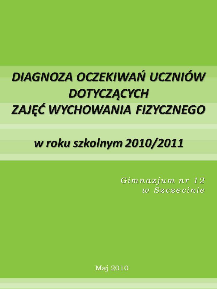 Gimnazjum nr 12 w Szczecinie Maj 2010