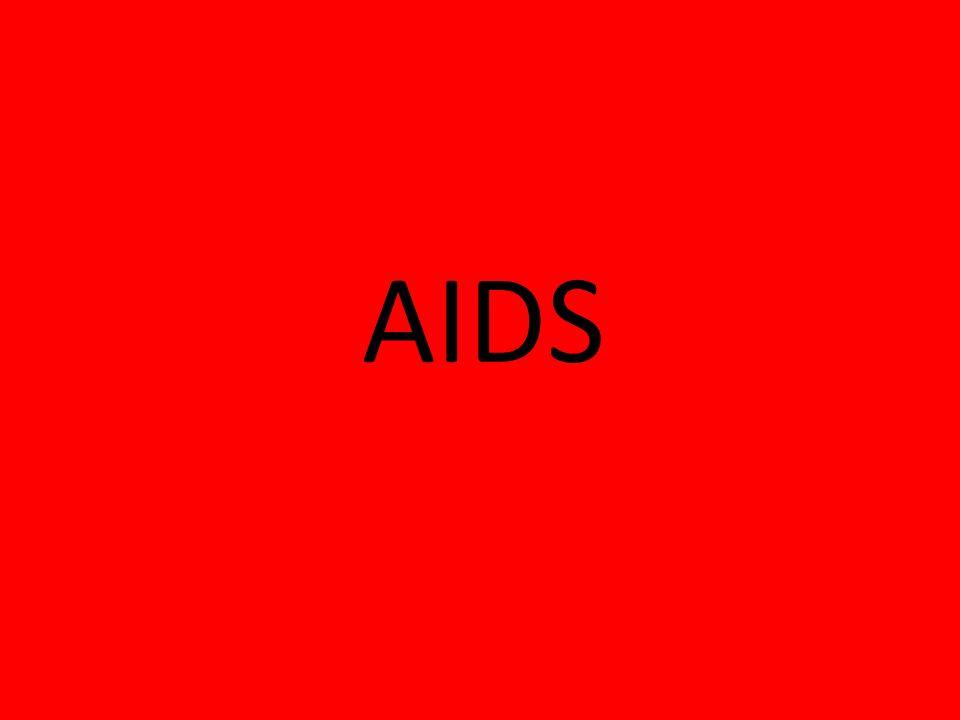 AIDS to zespół chorobowy spowodowany uszkodzeniem układu immunologicznego i zwiększoną podatnością na infekcje, wywoływany przez ludzki wirus upośledzenia odporności HIV.