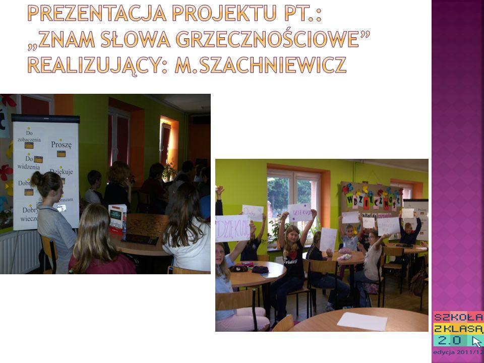 PROJEKT 2: Projekt został przygotowany przez uczniów klasy IV NSP.