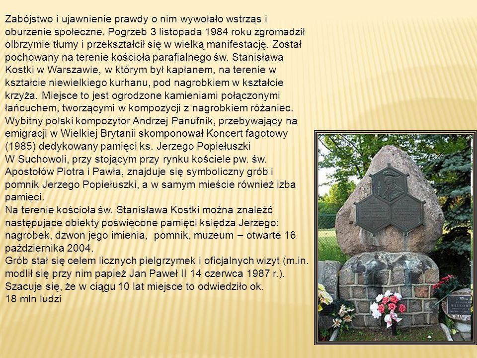 19 października 1984 ksiądz Jerzy został porwany przez funkcjonariuszy Służby Bezpieczeństwa (SB), którzy przewozili unieruchomionego i zakneblowanego