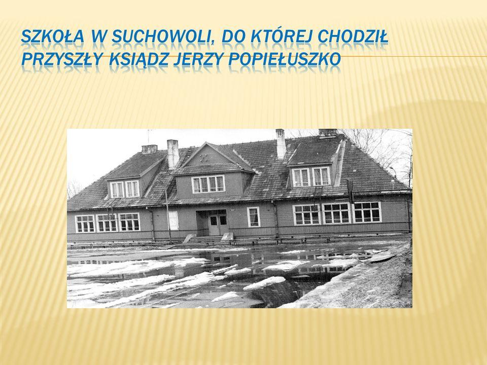 Od 1961 roku Jerzy uczył się w liceum w Suchowoli. W szkole nauczyciele charakteryzowali Go jako ucznia przeciętnie zdolnego, ale ambitnego. Był typem