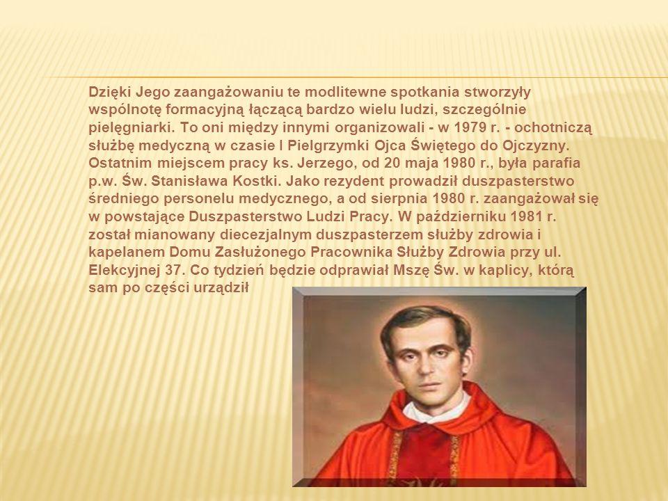 28 maja 1972 r. został kapłanem, przyjąwszy święcenia z rąk Księdza Kardynała Stefana Wyszyńskiego. Na obrazku prymicyjnym zapisał znamienne słowa:
