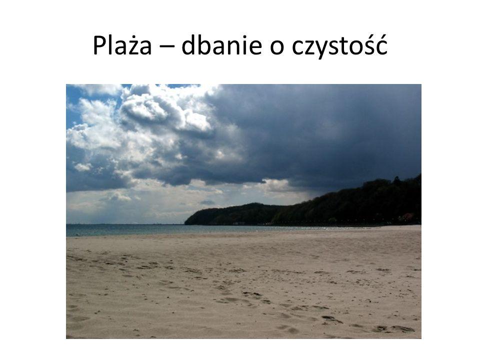 Plaża – dbanie o czystość