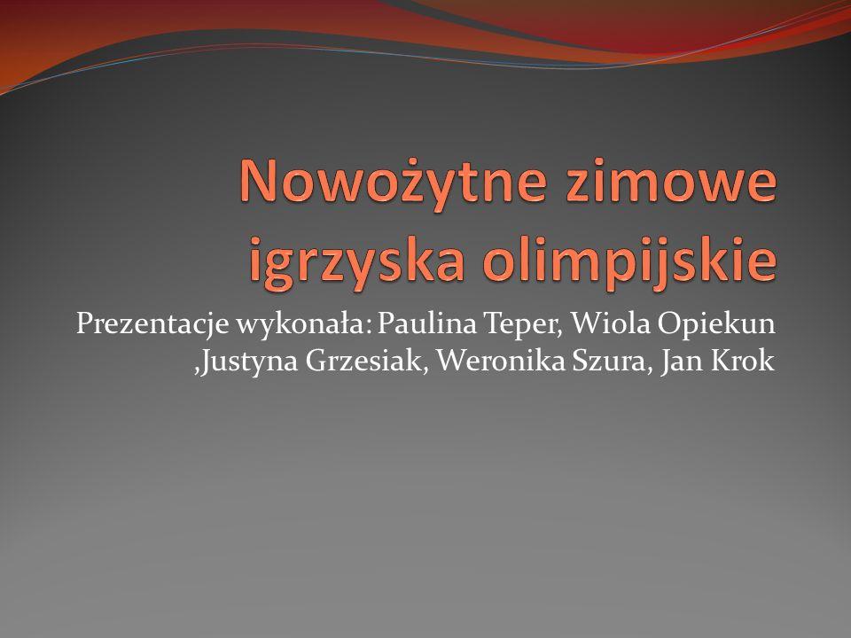 Prezentacje wykonała: Paulina Teper, Wiola Opiekun,Justyna Grzesiak, Weronika Szura, Jan Krok