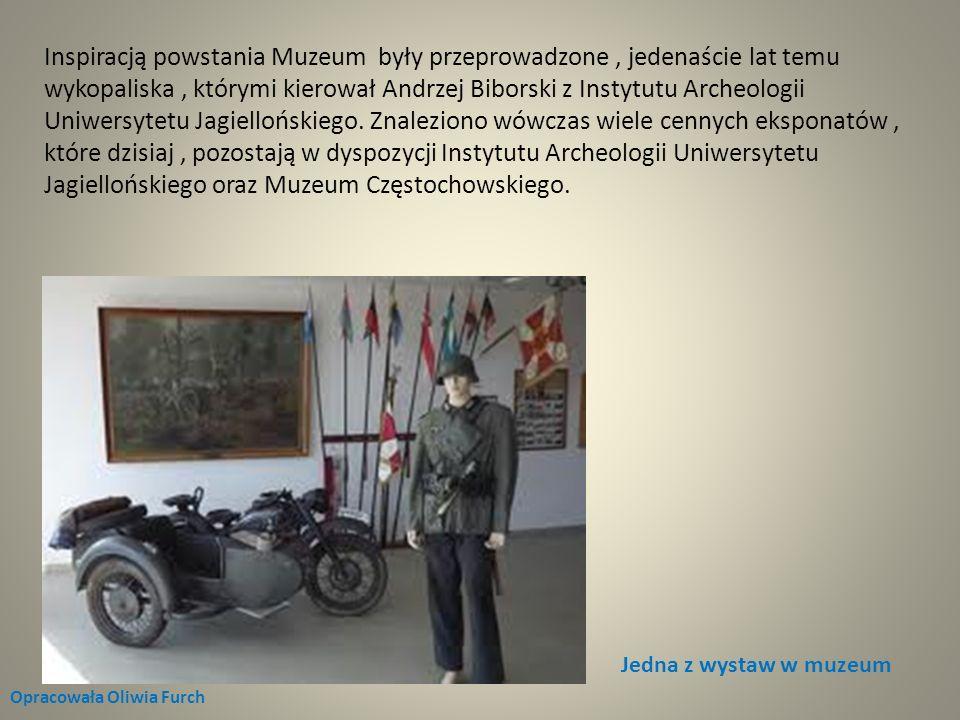 Jedna z wystaw w muzeum Opracowała Oliwia Furch Inspiracją powstania Muzeum były przeprowadzone, jedenaście lat temu wykopaliska, którymi kierował And