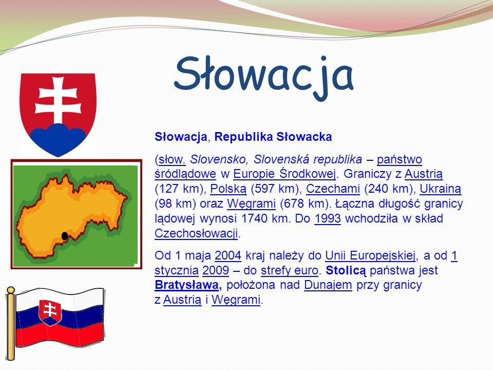 Słowacja, Republika Słowacka (słow.