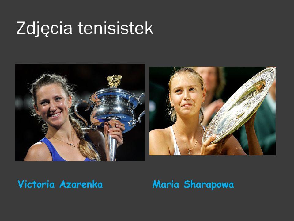 Zdjęcia tenisistek Victoria AzarenkaMaria Sharapowa