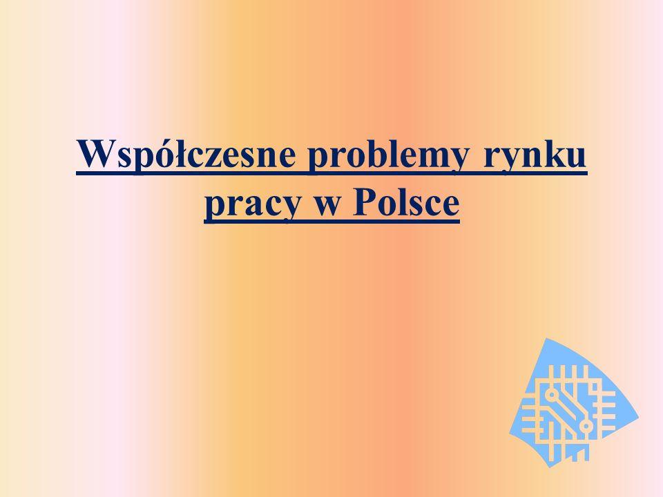 Współczesne problemy rynku pracy w Polsce