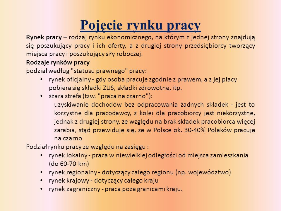 Wskaźniki aktywności zawodowej – ile osób jest w Polsce aktywny zawodowo?