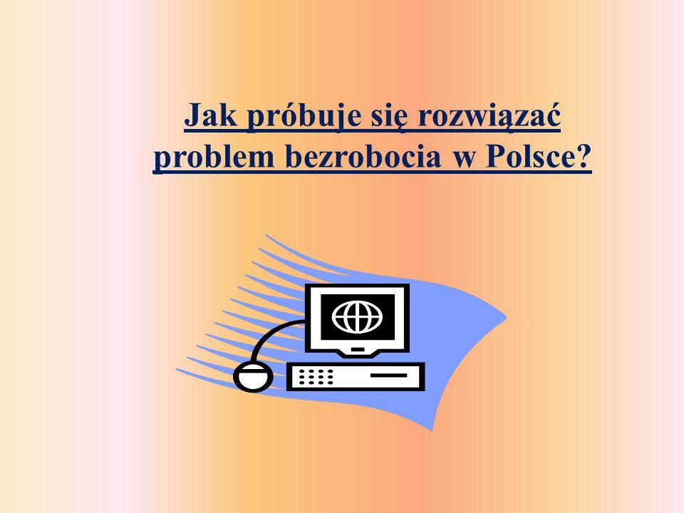 Jak próbuje się rozwiązać problem bezrobocia w Polsce
