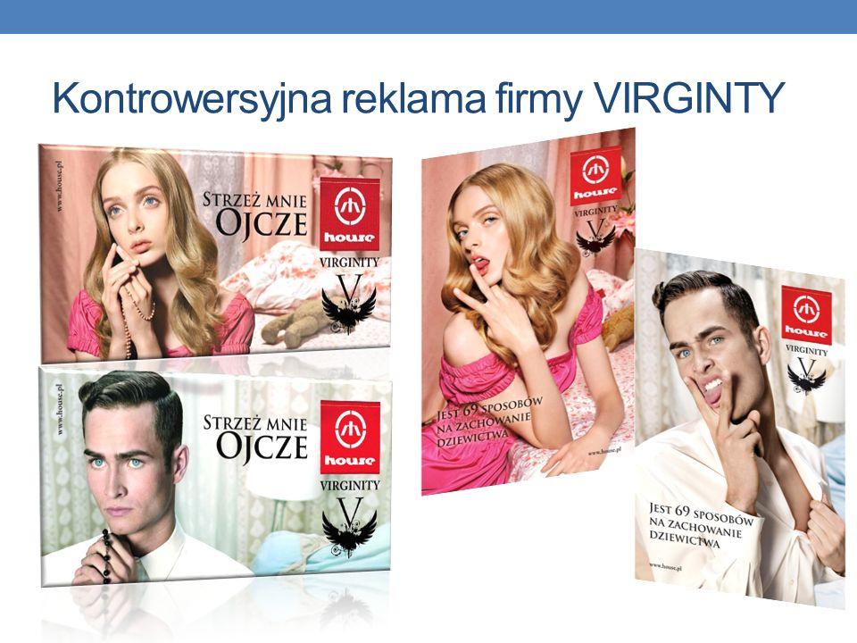 Kontrowersyjna reklama firmy VIRGINTY