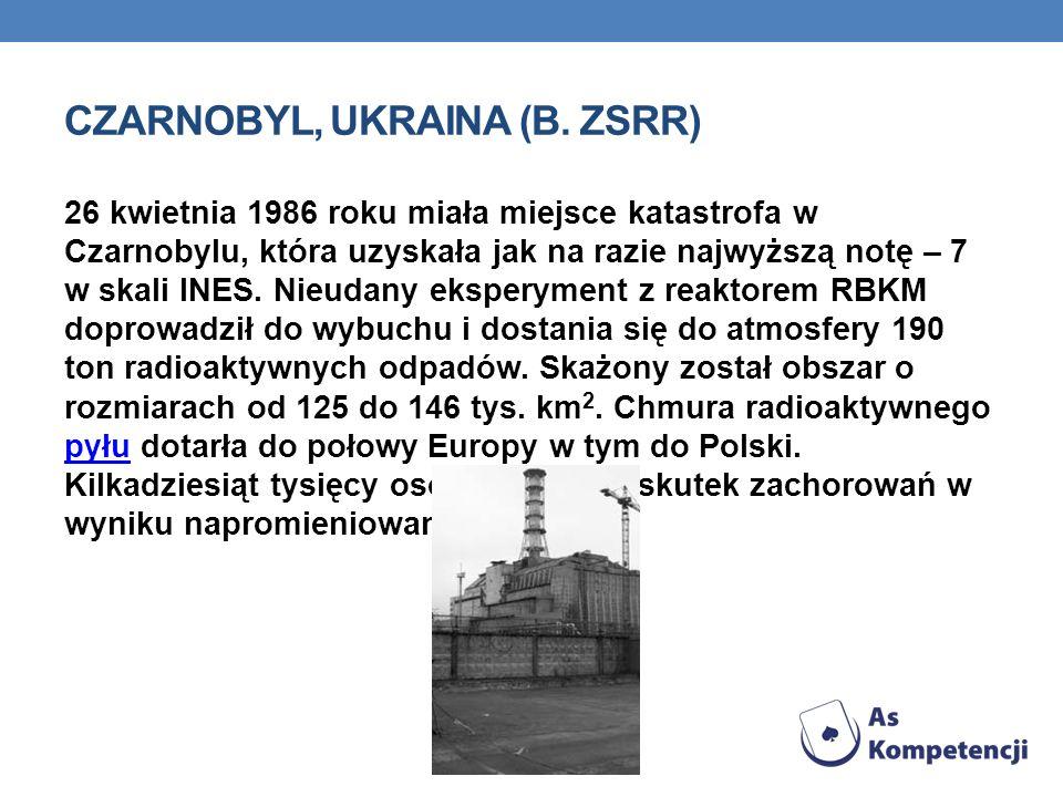 CZARNOBYL, UKRAINA (B.