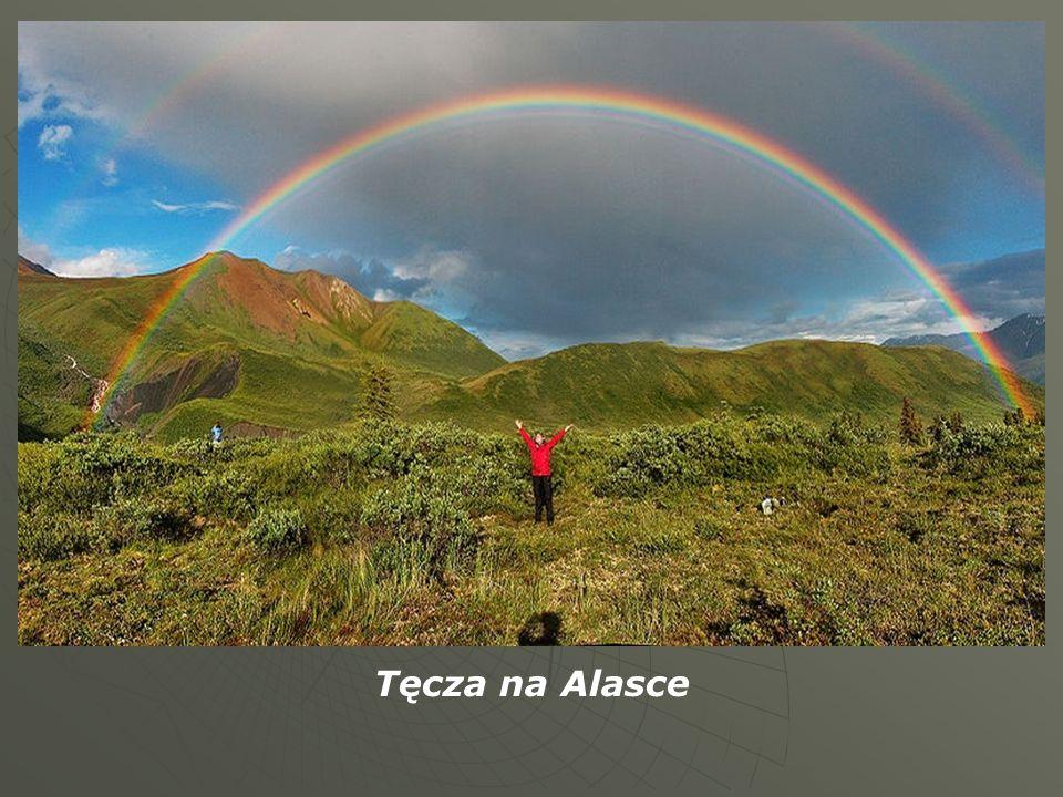 Tęcza na Alasce