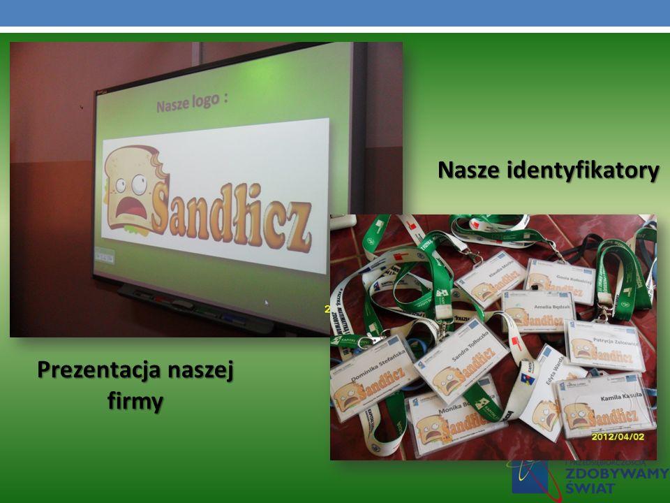 Prezentacja naszej firmy Nasze identyfikatory