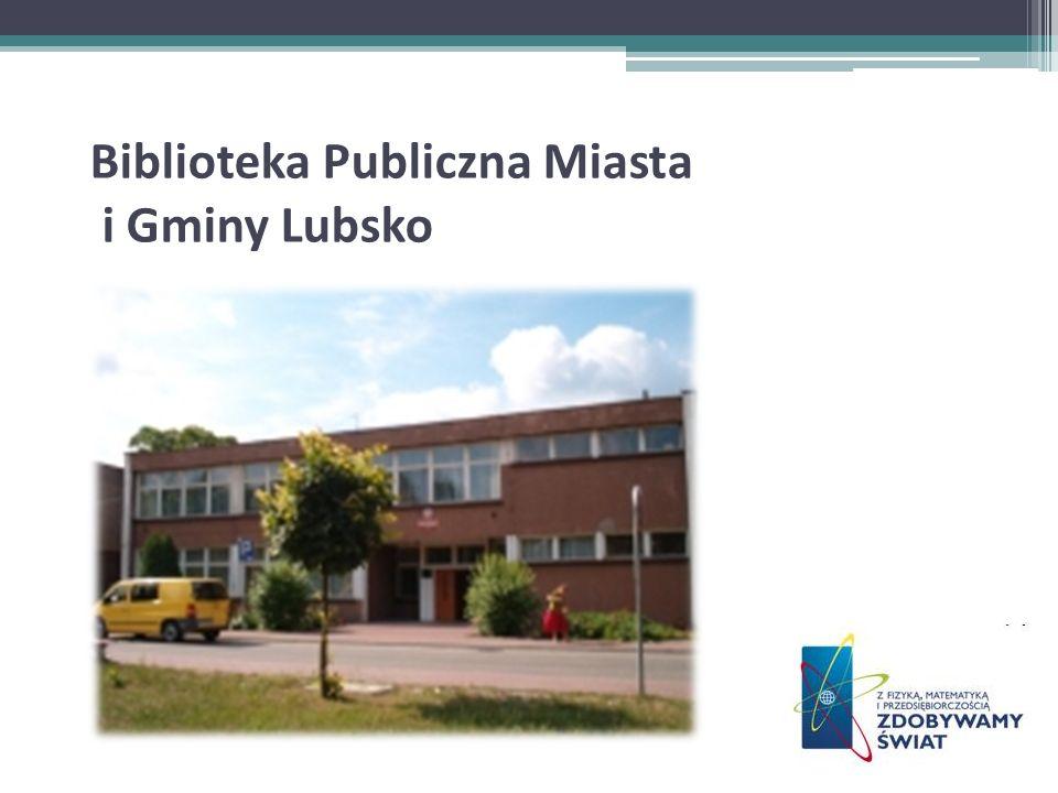 Biblioteka Publiczna Miasta i Gminy Lubsko