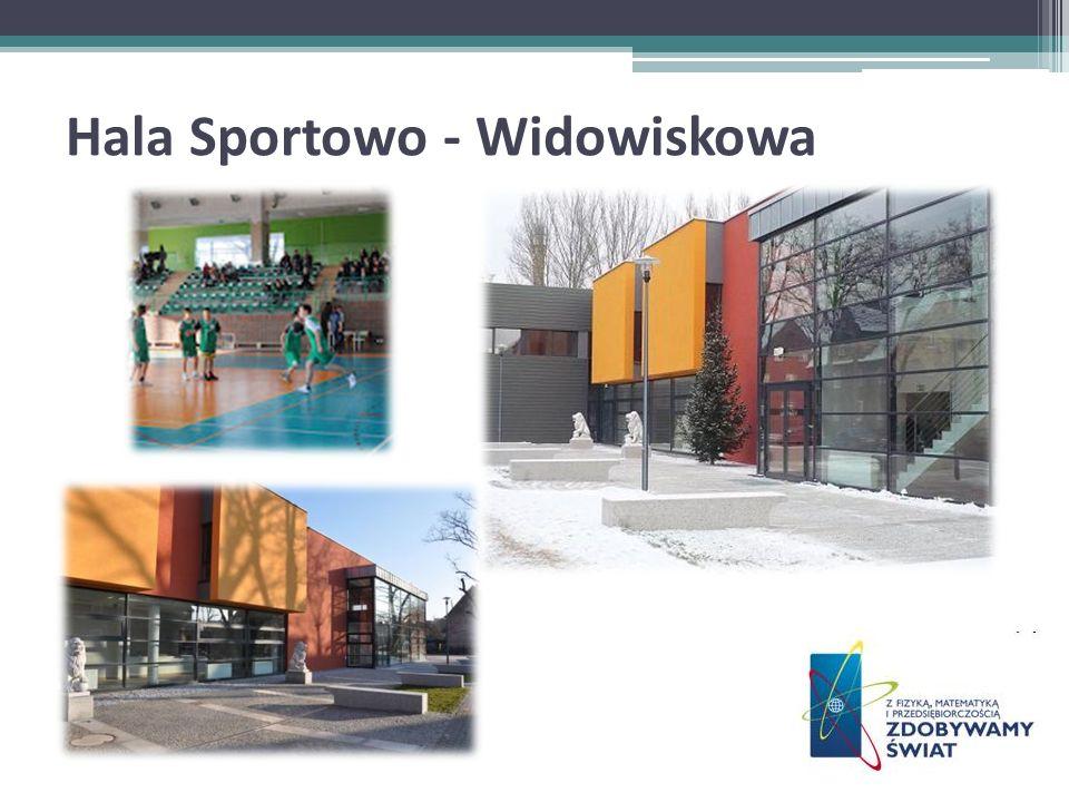 Hala Sportowo - Widowiskowa