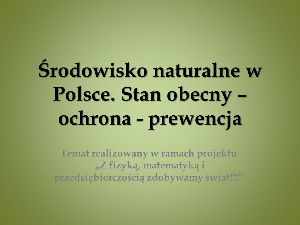 Środowisko naturalne w Polsce.