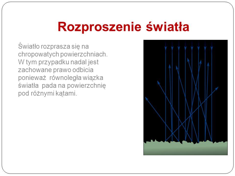 Bieg promieni w zwierciadłach kulistych Zwierciadło kuliste wklęsłe, promienia charakterystyczne Zwierciadło kuliste wypukłe, promienia charakterystyc