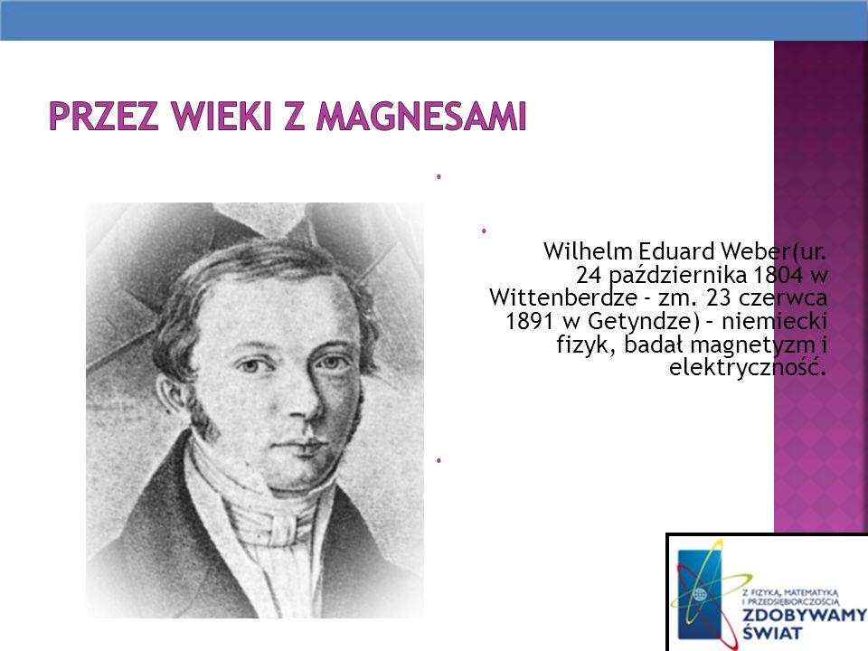 Wilhelm Eduard Weber(ur.24 października 1804 w Wittenberdze - zm.
