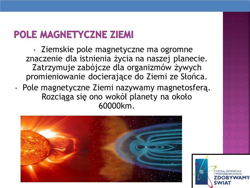 Ziemskie pole magnetyczne ma ogromne znaczenie dla istnienia życia na naszej planecie.