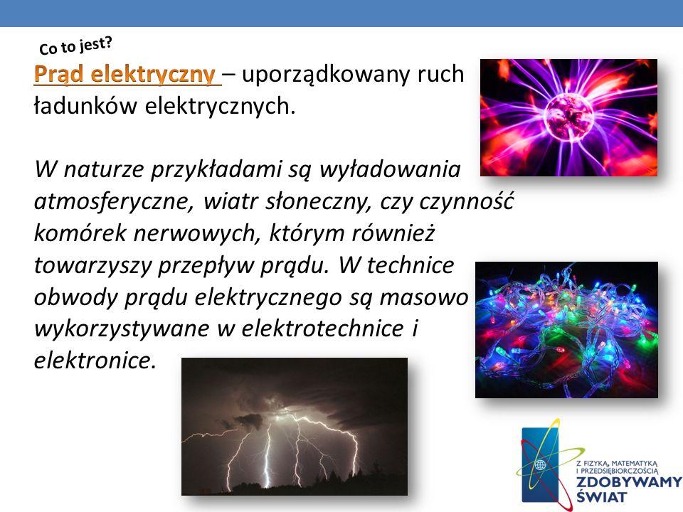 W obwodzie elektrycznym musi być źródło prądu.