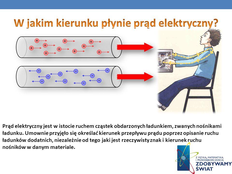 SKUTKI PRZEPŁYWU PRĄDU ELEKTRYCZNEGO Skutkami przepływu prądu mogą być m.
