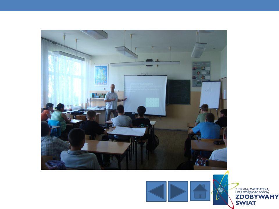 W Zespole Szkół w Baczynie został przeprowadzony wykład naukowy przez wykładowcę z Państwowej Wyższej Szkoły Zawodowej w Gorzowie Wielkopolskim mgr Tomasza Walkowiaka.
