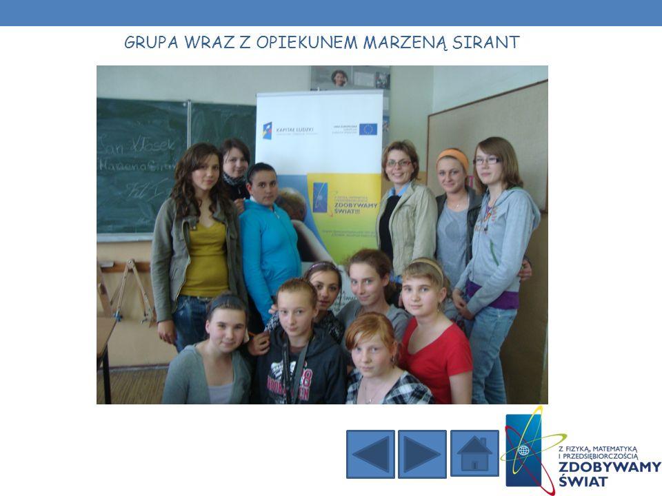 Uczniowie zostali wprowadzeni w tematykę projektu.