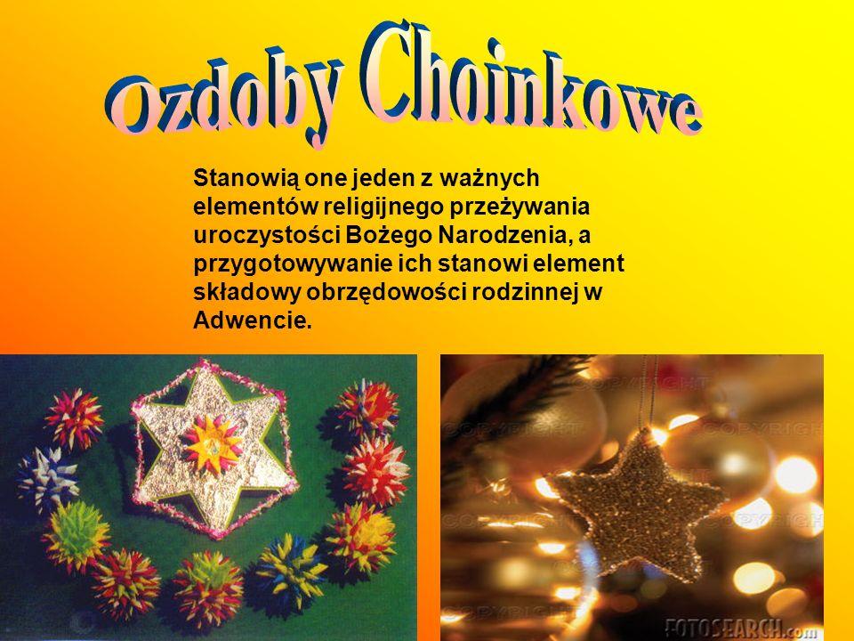 Stanowią one jeden z ważnych elementów religijnego przeżywania uroczystości Bożego Narodzenia, a przygotowywanie ich stanowi element składowy obrzędow