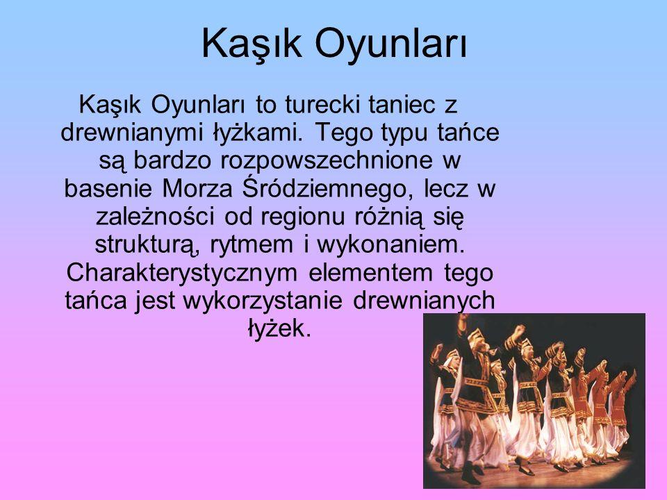 Kaşık Oyunları Kaşık Oyunları to turecki taniec z drewnianymi łyżkami.