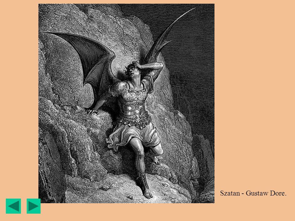 Szatan - Gustaw Dore.