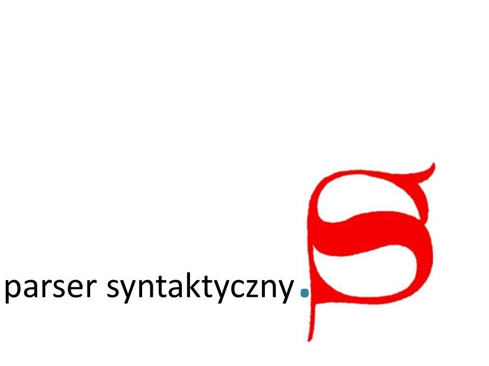 parser syntaktyczny.