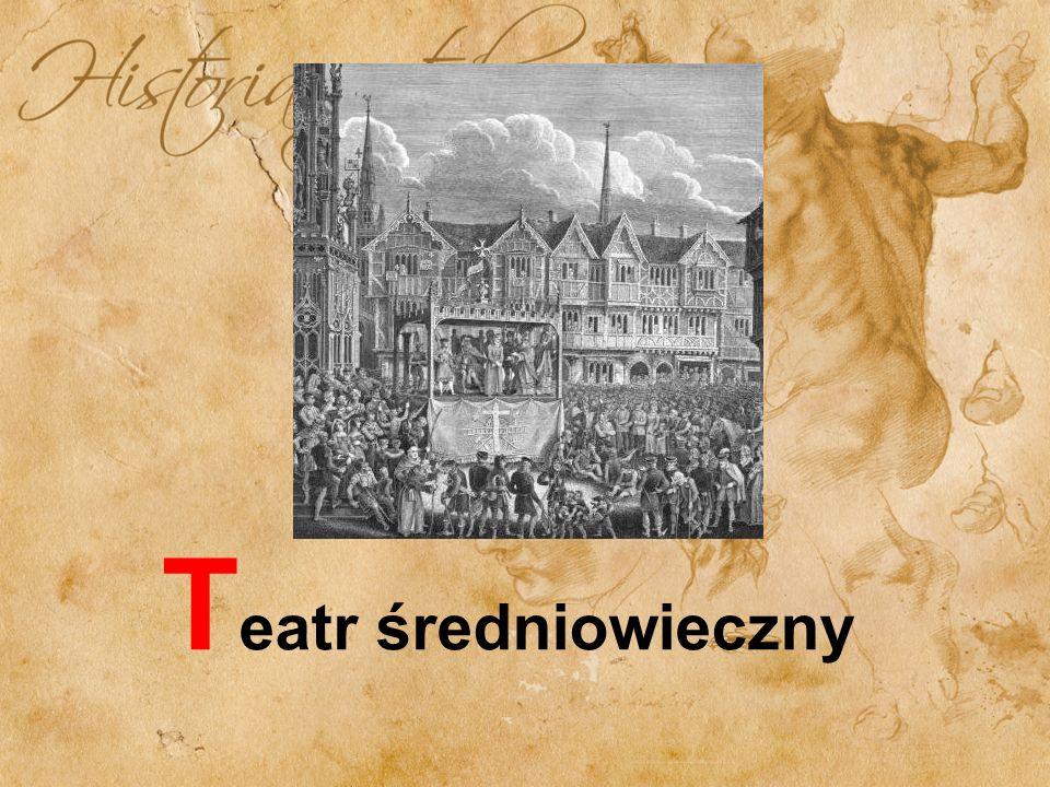 Dramat liturgiczny Termin ten został wprowadzony dopiero w XIX w.