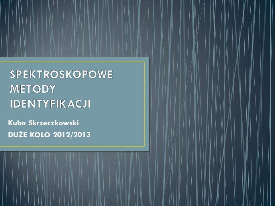 Kuba Skrzeczkowski DUŻE KOŁO 2012/2013