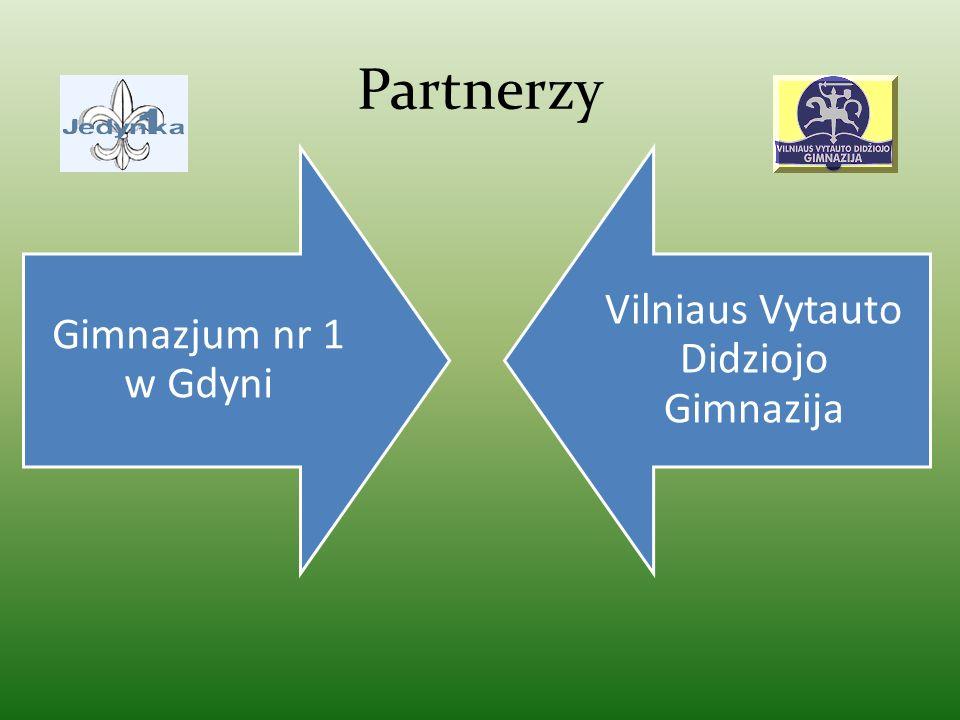 Partnerzy Gimnazjum nr 1 w Gdyni Vilniaus Vytauto Didziojo Gimnazija
