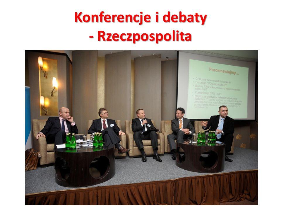 Konferencje i debaty - Rzeczpospolita