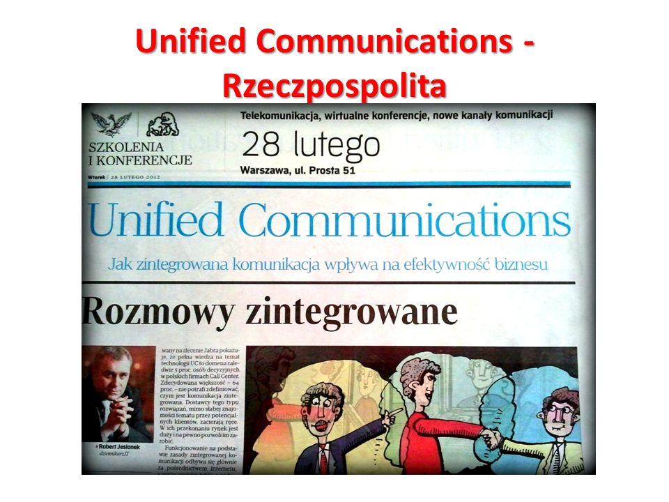 Unified Communications - Rzeczpospolita