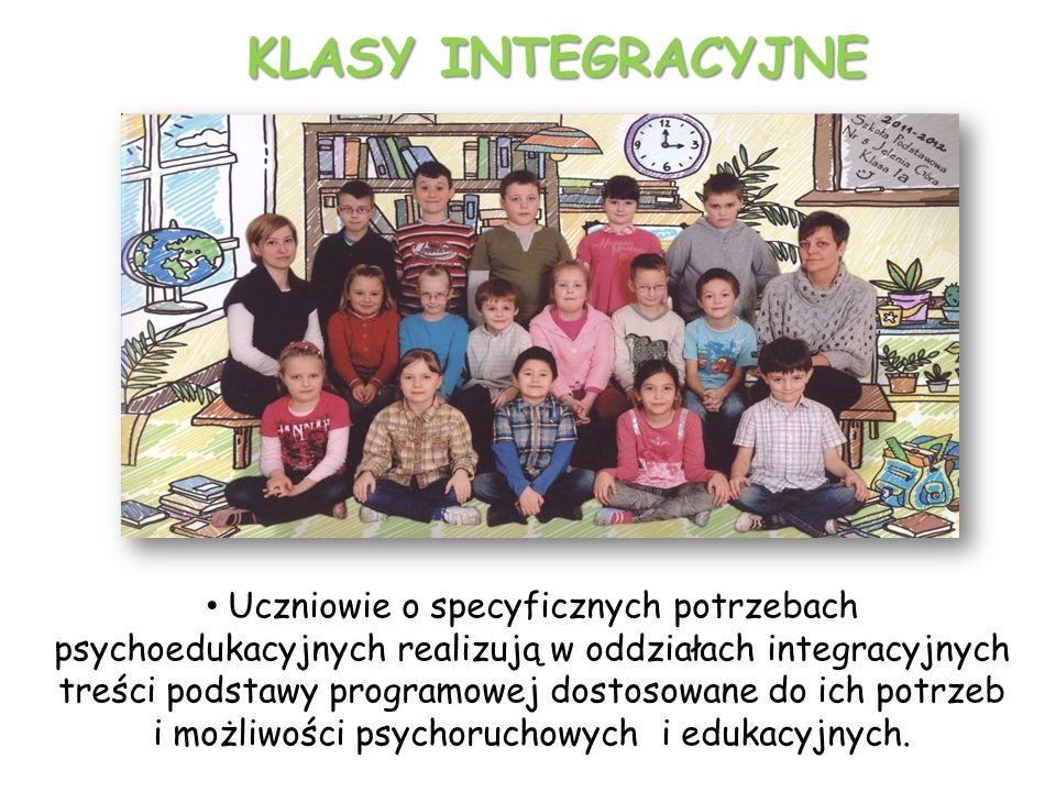 Pierwszą klasę integracyjną w naszej szkole utworzono w 1999 roku.