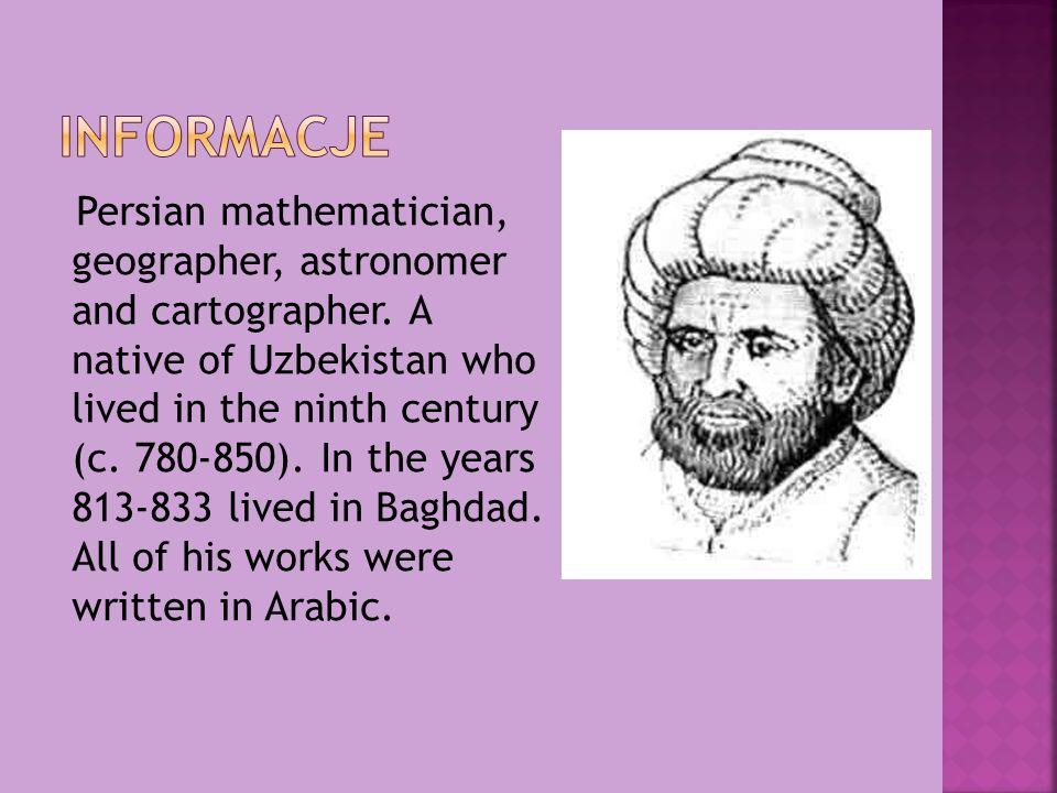 W nauce światowej zasłużył się głównie dzięki dwóm traktatom z zakresu matematyki.