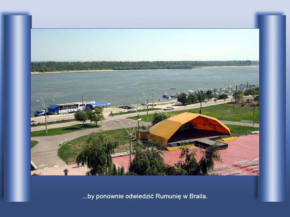 Przepływa przez bułgarskie miasto Ruse...