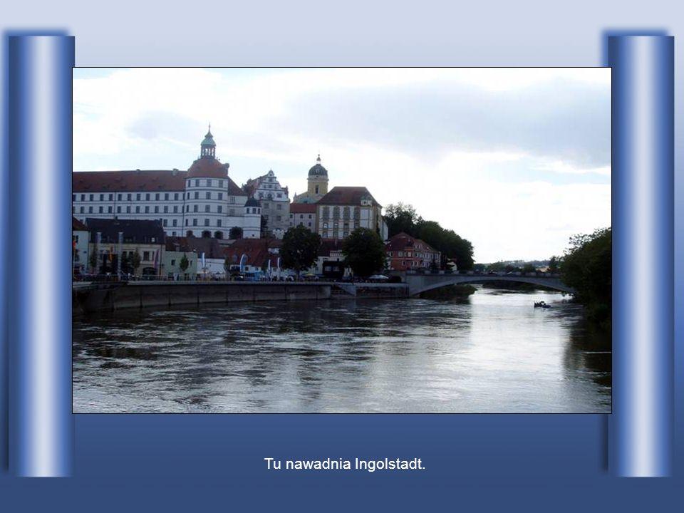 Dunaj w Ulm w Niemczech.
