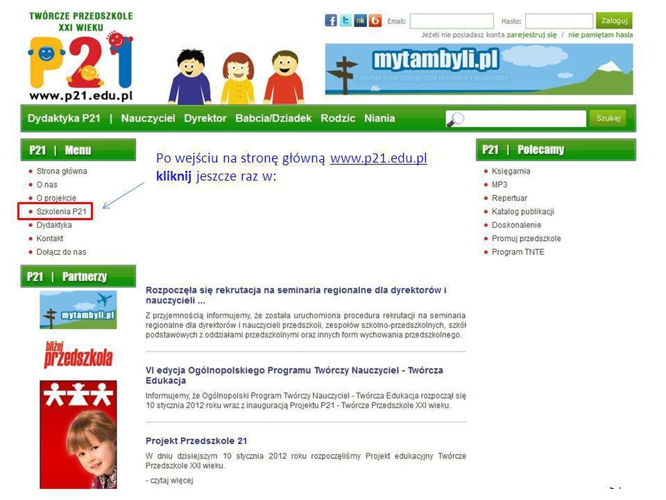 annakowalska@gm.com Po kliknięciu w link, powracamy na stronę www.p21.edu.pl, na której powinien pojawić się następujący komunikat:www.p21.edu.pl Po tym komunikacie, w swojej skrzynce odbiorczej znajdziesz kolejną informację: annakowalska@gm.com Po kliknięciu w link, przejdziesz ponownie na stronę główną P21