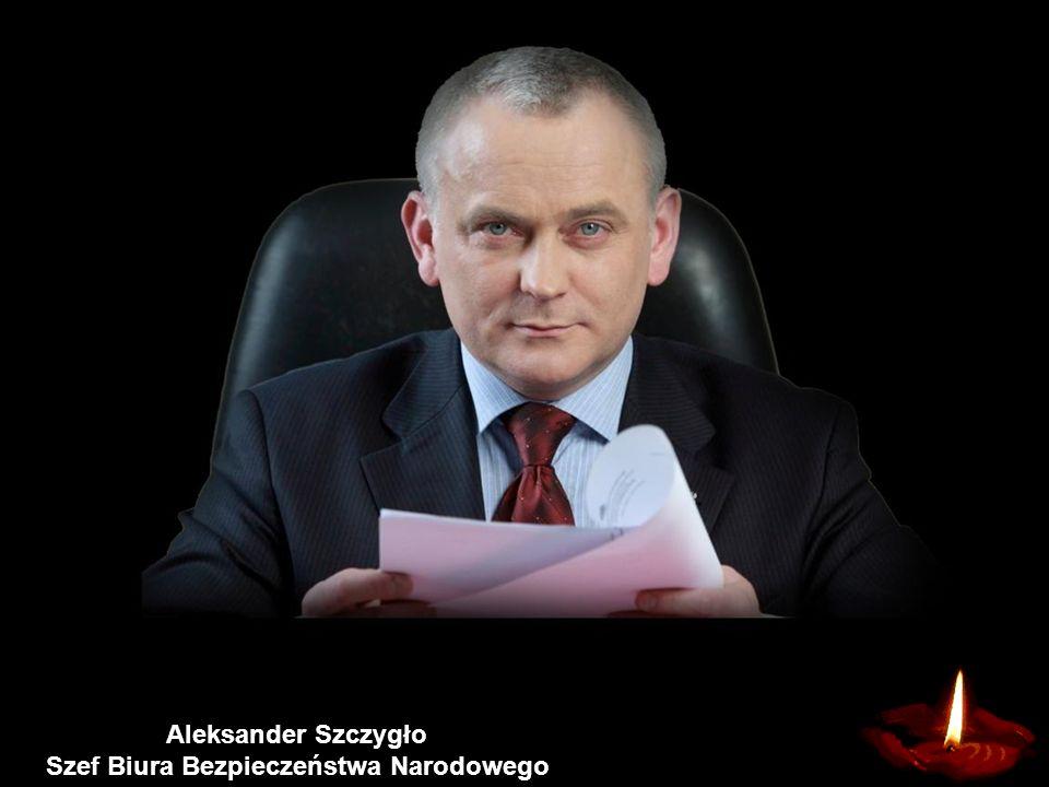 Władysław Stasiak Szef Kancelarii Prezydenta
