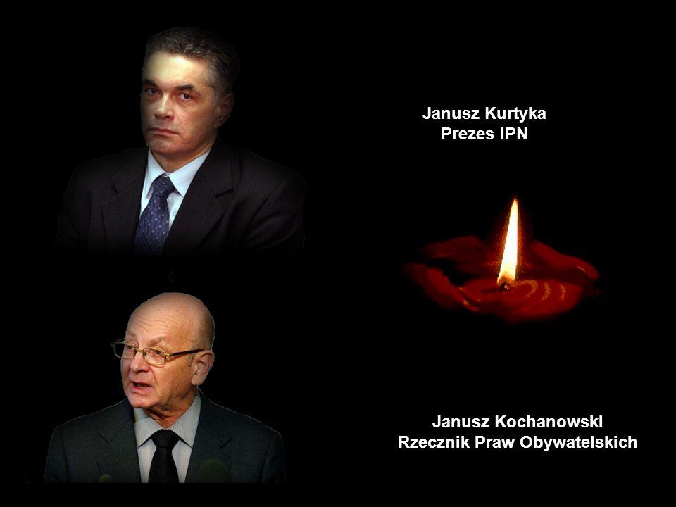 Joanna Agacka-Indecka Prezes Naczelnej Rady Adwokackiej Janusz Krupski Kierownik Urzędu do Spraw Kombatantów i Osób Represjonowanych