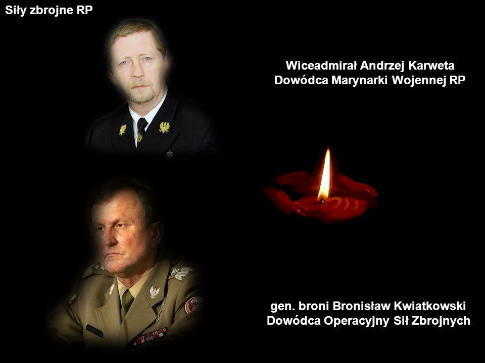 gen.Andrzej Błasik Dowódca Sił Powietrznych Siły zbrojne RP gen.
