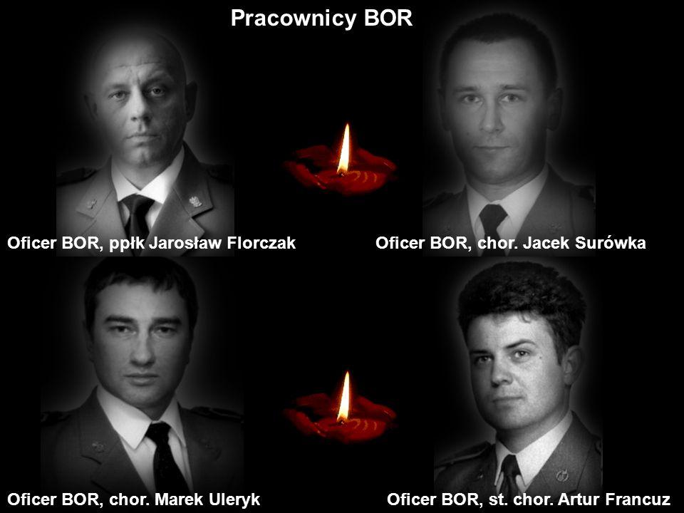 Oficer BOR, chor.Paweł KrajewskiOficer BOR, por. Paweł Janeczek Oficer BOR, kpt.