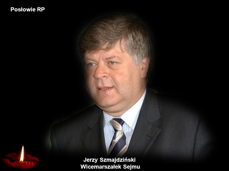 Krzysztof Putra Wicemarszałek Sejmu Posłowie RP