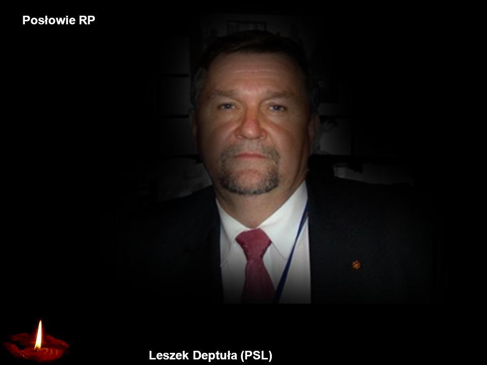 Jerzy Szmajdziński Wicemarszałek Sejmu Posłowie RP
