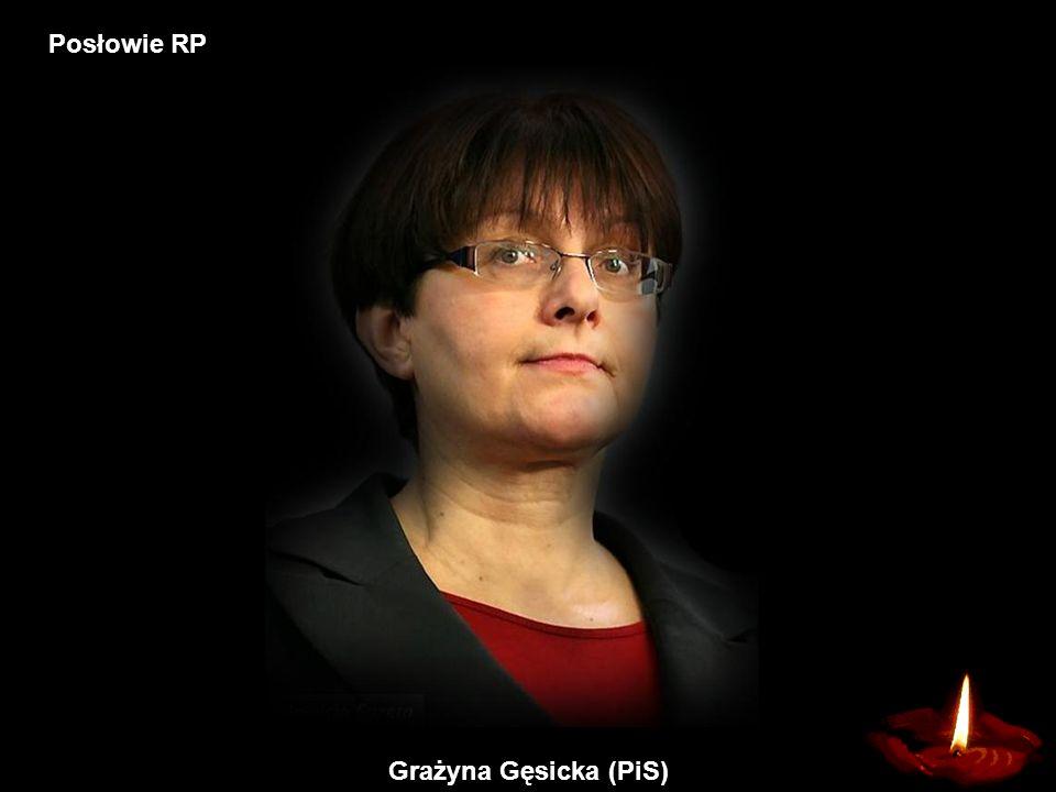 Grażyna Gęsicka (PiS) Posłowie RP
