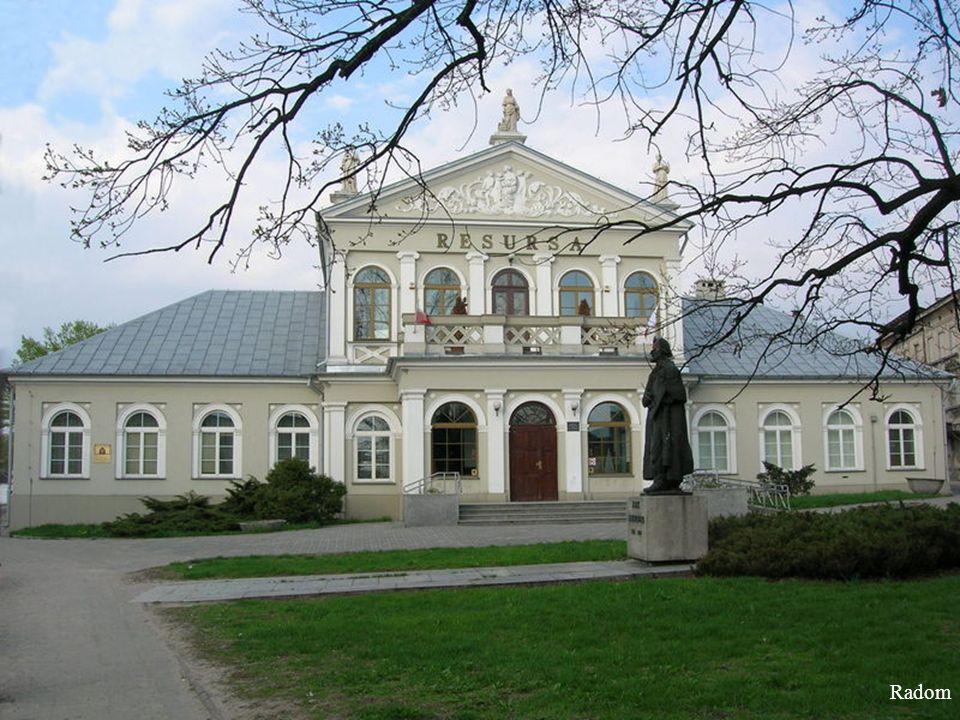 Radom - The monastery and church oo.Bernardines
